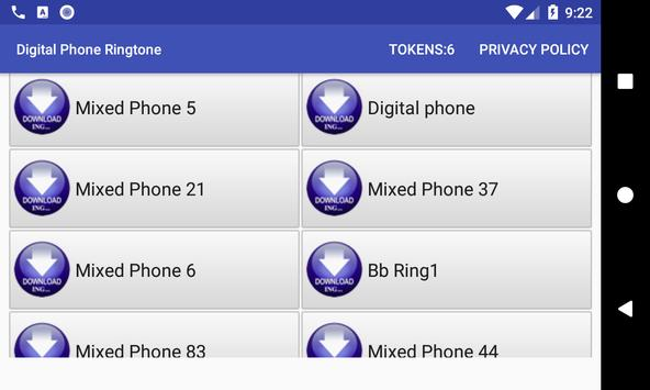 Digital Phone Ringtone screenshot 1