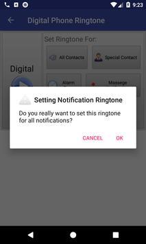 Digital Phone Ringtone screenshot 5