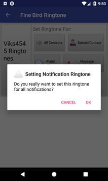 Fine Bird Ringtone: phone ringtone app screenshot 5