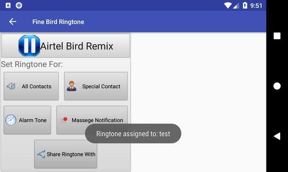 Fine Bird Ringtone: phone ringtone app screenshot 6