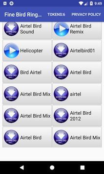 Fine Bird Ringtone: phone ringtone app screenshot 9