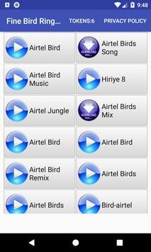Fine Bird Ringtone: phone ringtone app poster
