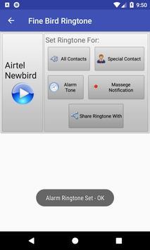 Fine Bird Ringtone: phone ringtone app screenshot 11