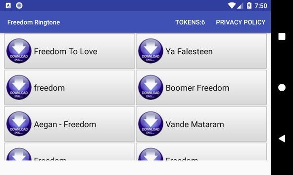 Freedom Ringtone screenshot 11