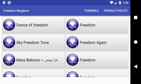 Freedom Ringtone screenshot 1
