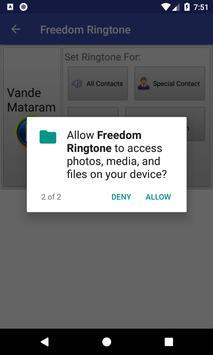 Freedom Ringtone screenshot 4