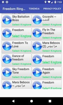 Freedom Ringtone screenshot 9