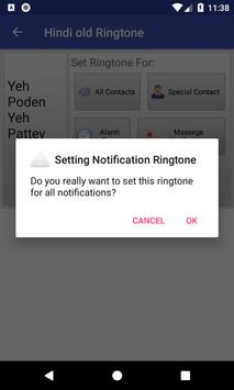 Hindi old Ringtone: mobile ringtone app screenshot 4