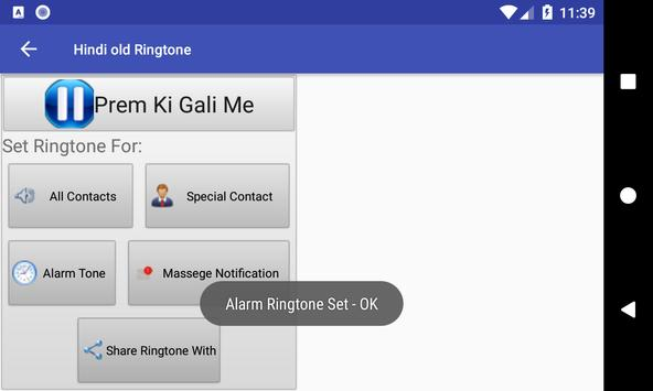 Hindi old Ringtone: mobile ringtone app screenshot 7