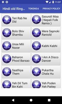 Hindi old Ringtone: mobile ringtone app poster
