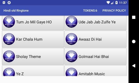 Hindi old Ringtone: mobile ringtone app screenshot 11