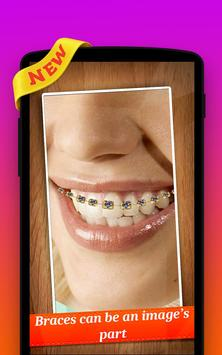🌟 Braces Photo Editor Pro poster