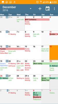 aCalendar - Android Calendar poster