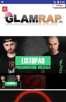 Glamrap poster
