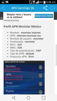 APN Settings 3G apk screenshot