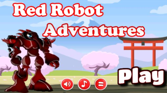 Red Robot Adventures poster