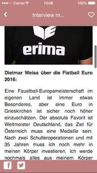 Fistball Euro 2016 screenshot 2