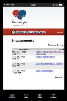 Corrie Remembers apk screenshot