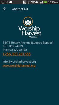 Worship Harvest apk screenshot
