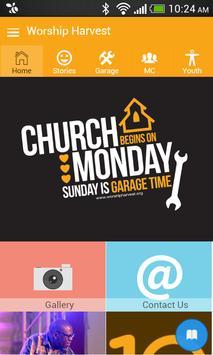 Worship Harvest poster