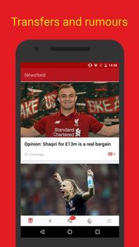 Liverpool Live – Goals & News for Liverpool Fans apk تصوير الشاشة