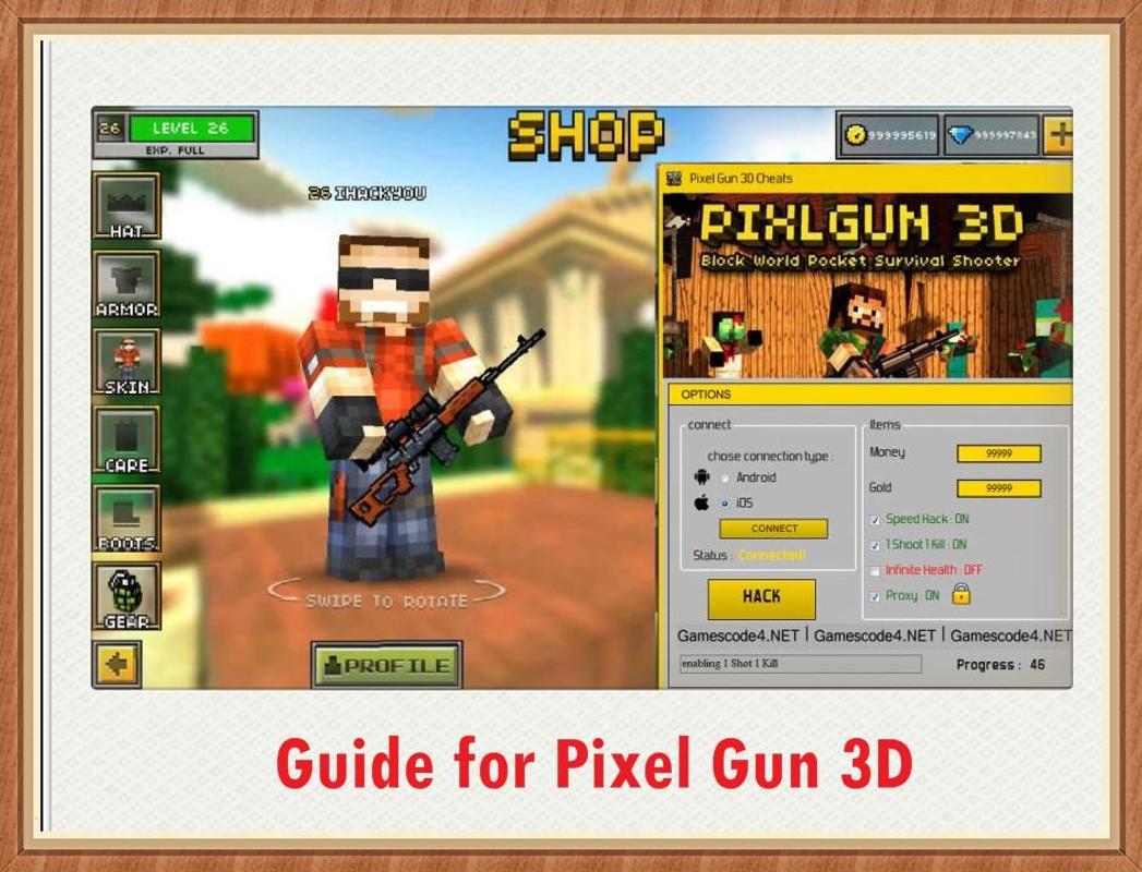 Pixel gun 3d hack apk download android | Pixel Gun 3D Hack