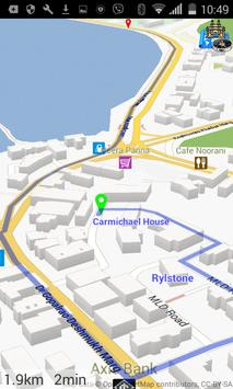 3D Mumbai: Maps + GPS screenshot 1
