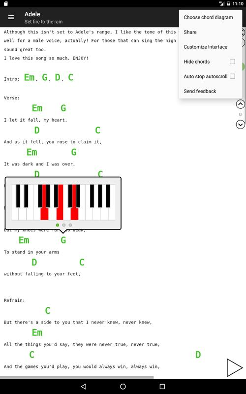 Guitar Chords And Tabs Apk Download Free Music Audio App For