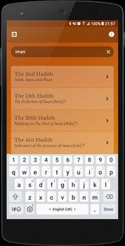 An-Nawawi's Forty Hadiths apk screenshot