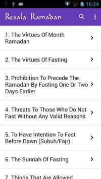 Resala Ramadan الملصق