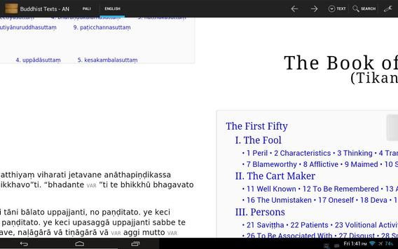 Theravada Buddhist Texts screenshot 1