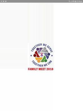 FAMILY MEET REGISTRATION - West District Y's Men poster