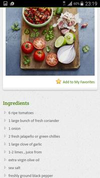 Mexican Recipes apk screenshot
