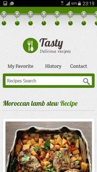 Moroccan Recipes apk screenshot