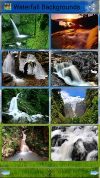 Waterfall  Backgrounds poster