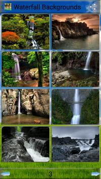 Waterfall  Backgrounds apk screenshot