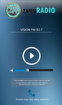 Vision FM 92.7 poster