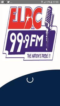 ELBC Radio 99.9 poster