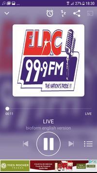 ELBC Radio 99.9 screenshot 2