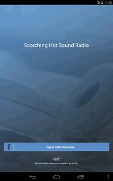 Scorching Hot Sound Radio poster