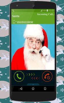 Call for Santa (prank) apk screenshot