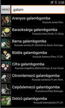 Terra Gombalexikon és határozó apk screenshot