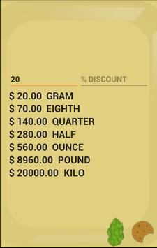 Weed Calculator screenshot 2
