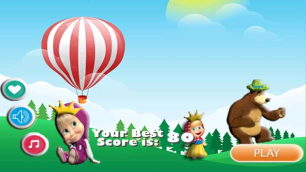 Free Adventure Masha game poster