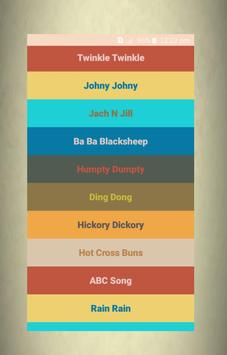 Nursery Rhymes Songs - Free Rhymes screenshot 8