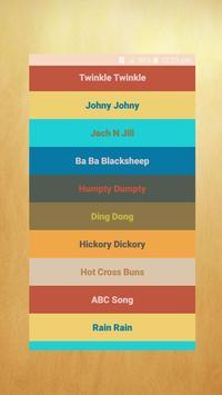 Nursery Rhymes Songs - Free Rhymes poster