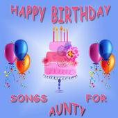 Happy Birthday Songs for Aunt icon