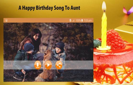 Happy Birthday Songs for Aunt screenshot 14