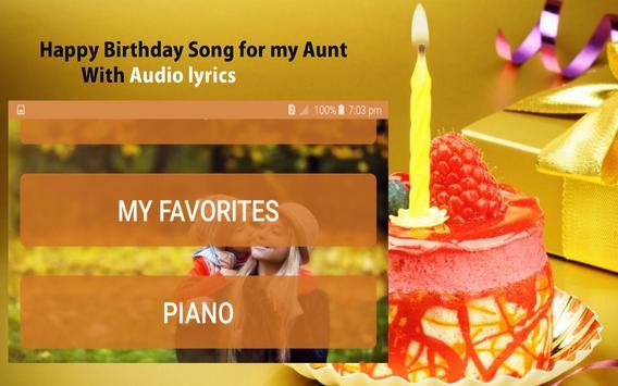 Happy Birthday Songs for Aunt screenshot 20
