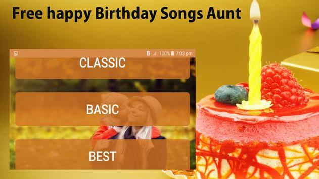 Happy Birthday Songs for Aunt screenshot 4